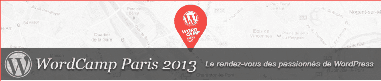 Revivez le WordCamp Paris 2013