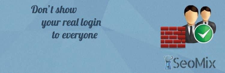User Name Security : Cachez le login des utilisateurs