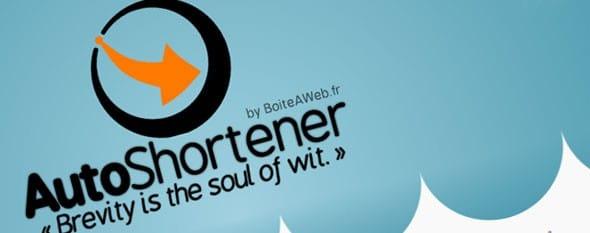 AutoShortener : Le réducteur d'URL intégré à  votre site