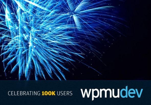WPMUDEV : Célébrez les 100000 membres