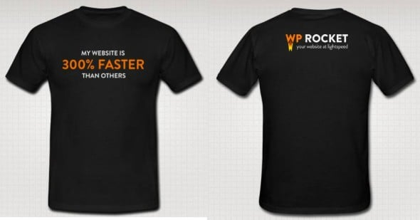 T Shirt WP Rocket