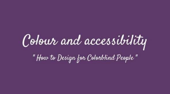 «Colour and accessibility» : My slides from #WCEU