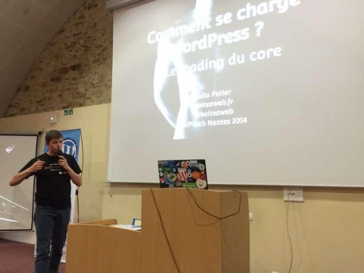 Compte rendu du WPTech 2014 + slides : Comment se charge WordPress ?